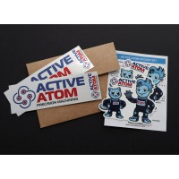 Active Atom Sticker Set